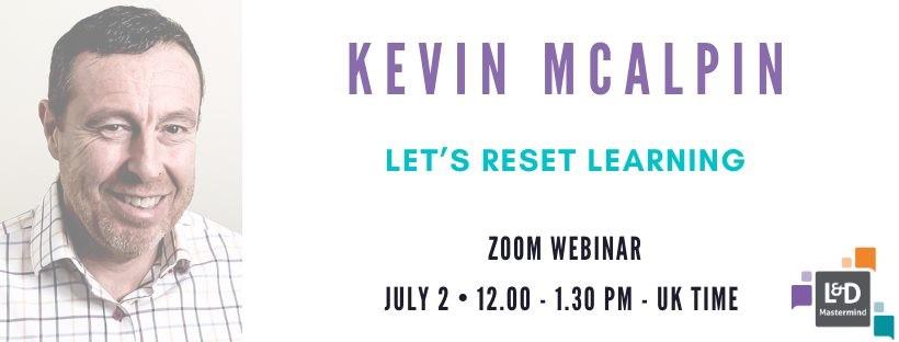 210702 L&D Mastermind Event - Kevin McAlpin