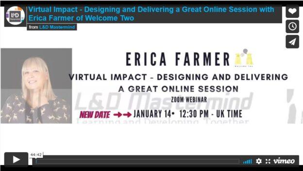Erica Farmer.Virtual Impact