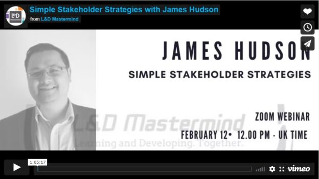 James Hudson.Simple Stakeholder Strategies