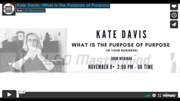 ate Davis.What is the purpose of purpose