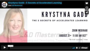 Krystyna Gadd.The 5 secrets of accelerated learning