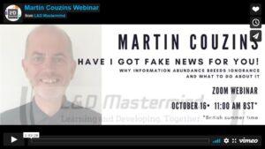 Martin Couzins.Have I got fake news