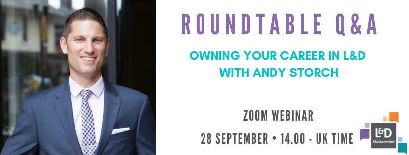 Roundtable Q&A.Andy Storch