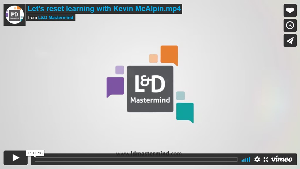 Kevin McAlpin.Lets reset learning